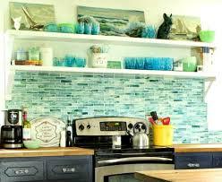 blue kitchen tile backsplash coastal kitchen backsplash ideas with tiles from murals to