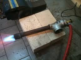 homemade pipe burner forced air homemade propane burner apps