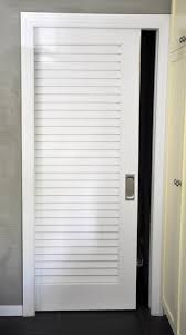 Closet Doors Louvered Wooden Louvered Sliding Closet Doors Adeltmechanical Door Ideas