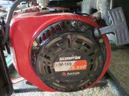 scorpion 6 5hp generator outdoorking repair forum