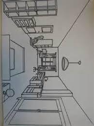 chambre en perspective dessin d une chambre en perspective 2 apprendre 224 dessiner en