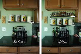cabinets for less kitchen before wooden in cabinet spice rack