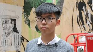 current hong kong men hairstyle joshua wong and two other umbrella movement leaders jailed by hong