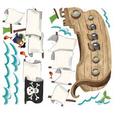 pirate ship giant wall sticker stickers for wall com pirate ship stickers pirate ship decorations