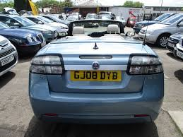 used blue saab 9 3 for sale glamorgan