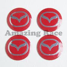 mazda car emblem 2017 c009 56 5mm car styling accessories emblem badge sticker red