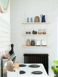 Ikea Kitchen Shelves Kitchen Shelving With Ekby Gallo Shelf Brackets From Ikea From