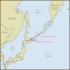 Map Japan A Map Of The Kuril Islands Border Dispute Between Japan An U2026 Flickr