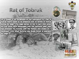 definition of siege rat of tobruk definition