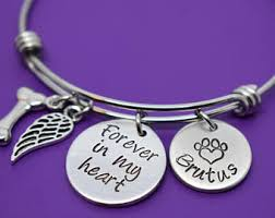 Remembrance Items Pet Memorial Jewelry Etsy