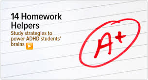 Homework Help for ADHD Students  Studying and Organization Tips ADDitude Magazine End the ADHD Homework Wars