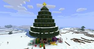 merry christmas minecraft picture