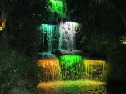 festival of lights waterfall picture of pukekura park new