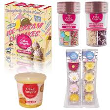 Christmas Cake Decorations The Range by Review Ice Cream Cone Cup Cake Kit U0026 Cake Decorations Range