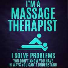 Funny Massage Memes - sometimes the therapy you need requires no talking at all www