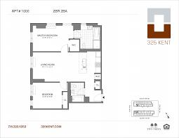 12 X 14 Bedroom 325 Kent Apt 1214