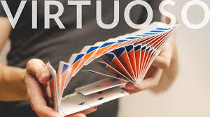 virtuoso cards card flourishes cardistry virtuoso what s the best deck for