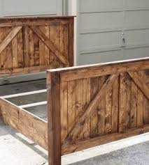 Barn Door Furniture Bunk Beds Beautiful Rustic Barn Door Bed Farmhouse Style Rustic