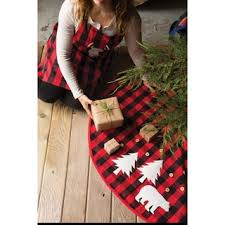 plaid tree skirt now designs buffalo check tree skirt free shipping today