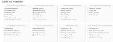 Wedding Invitations Wording Samples Wedding Wording Samples And Ideas For Indian Wedding Invitations 2016