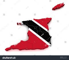 Trinidad Map 3d Map Trinidad Tobago Stock Illustration 91597430 Shutterstock