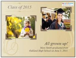 graduation photo announcements free printable graduation announcements lovetoknow