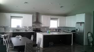 mix and match your cabinet colors this kitchen features wolf