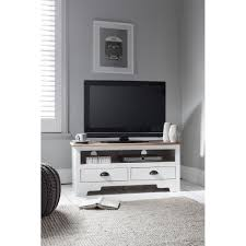 Tv Units Canterbury Tv Unit In White U0026 Dark Pine Noa U0026 Nani