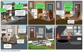 a u0027 u0027the secret life of pets u0027 u0027 story part 1 storyboard