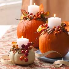make pumpkin candle holders pumpkin candles thanksgiving