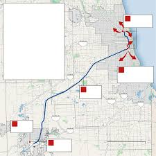 Chicago Brown Line Map by How Chicago Gets Its Concrete U2014 From A Mine Chicago Tribune