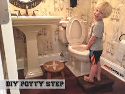 Step Stool For Kids Bathroom - toddler bathroom step that improves aim free diy plans