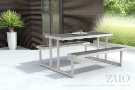 Galvanized Outdoor Chairs Cuomo Picnic Table U0026 Benches With Poly Wood Tops On Galvanized Aluminu