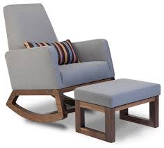 West Elm Ryder Rocking Chair Collection In Modern Rocking Chair For Nursery With 25 Best Ideas