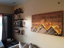 inspiring wooden wall decor emerson design