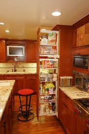 Roll Out Trays For Kitchen Cabinets Modern White Solid Wood Pantry Kitchen Cabinet With Vertical Pull