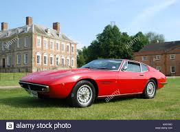 red maserati sedan red maserati ghibli ss 1972 sports car stock photo royalty free