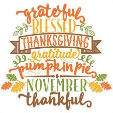 happy thanksgiving clip wording 101 clip