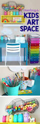 Childrens Desk Accessories by Best 25 Art Desk For Kids Ideas On Pinterest Kids Art Station