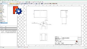 freecad 2d drawing dimension workbench youtube
