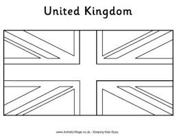 the most incredible british flag coloring page with regard to