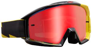 fox motocross goggles fox racing main mastar goggles cycle gear