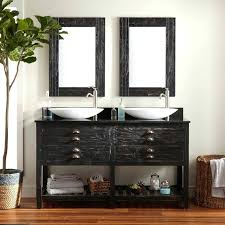 Distressed Wood Bathroom Vanity Reclaimed Wood Bathroom Vanity Mirror Bath Pallet Section Storage