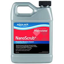Kitchen Floor Cleaner by Custom Building Products Aqua Mix 1 Qt Nano Scrub Cleaner 100978