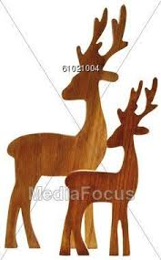 Outdoor Reindeer Decorations Outdoor White Reindeer Christmas Wood Yard Art Lawn Decoration