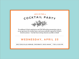 Cocktail Party Invite - 53 party invitation examples