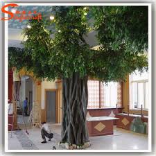 best sale indoor decoration large artificial ficus plant tree
