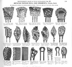 decorative hair combs enemies of the curator deterioration of celluloid and