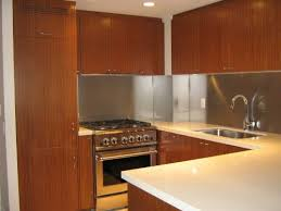 stainless steel backsplash kitchen ideas with stainless steel
