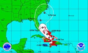 Cuba On A Map When Did Hurricane Matthew Hit Jamaica Haiti Cuba Disaster